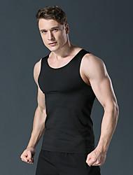 cheap -Men's Solid Colored Tank Top Sports Gym White / Black / Dark Gray / Gray