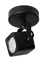 cheap -LED Spot Light GU10 3W LED Bulb Included Metal Black Painting for Living Bedroom Asile LED Lighting