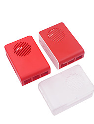 cheap -New ABS Protection Box For Raspberry Pi4B Development Board Red/Translucent/red white
