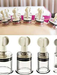 cheap -Anti Cellulite Massage Cans Rotary Handle Vacuum Suction Cans Acupuncture Cupping Cup Nipple Enhancer Health Care Tool 4 Size