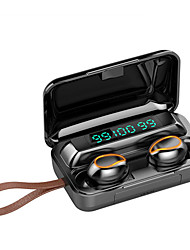 cheap -F9-Fluid Wireless Earbuds TWS Headphones Bluetooth 5.0 Long Standby Battery Life Sport True Wireless Earbuds Auto Pairing Hi-fi Sound Quality Waterproof LED Triple Display Mini In-Ear-LITBest