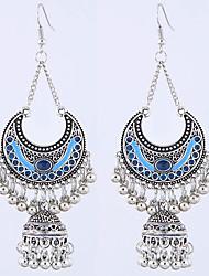 cheap -Women's Drop Earrings Earrings Tassel Fringe Stylish Vintage European Boho Earrings Jewelry White / Black / Blue For Party Evening Gift Prom Date Vacation 1 Pair