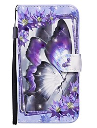 cheap -Case For Samsung Galaxy S20 Ultra S20 Plus S10E A51 A71 Wallet  Card Holder with Stand Full Body Cases Butterfly PU Leather A10 A20 A30 A30S A40 A50 A50S A70 A11 A01 A21S A41 A81 A91