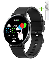 cheap -JSBP HR18T Smart Watch BT Fitness Tracker Support Notify Full Touch Screen/Heart Rate Monitor Sport Stainless Steel Bluetooth Smartwatch Compatible IOS/Android Phones