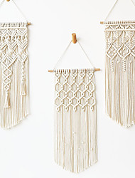 cheap -Macrame Wall Gift Hanging Bohemian Handmade Woven Art Decor Home Living Room Dorm Decoration 1 Pcs Tassel Bohemian Tapestry