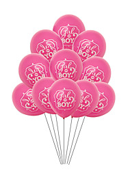 cheap -Party Balloons 50 pcs Gender Reveal Party Supplies Latex Balloons Boys and Girls Party Birthday Decoration 12inch for Party Favors Supplies or Home Decoration