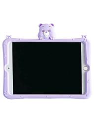 cheap -Case For Apple iPad 10.2 2019 iPad Air iPad Air 2 iPad Pro 12.9 iPad Pro 11 iPad Pro 10.5 iPad Pro 9.7 iPad 2 3 4 with Stand Pattern Back Cover Cartoon Silica Gel