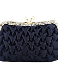 cheap -Women's Bags Polyester Satin Evening Bag Glitter Wedding Bags Party Event / Party Date Black