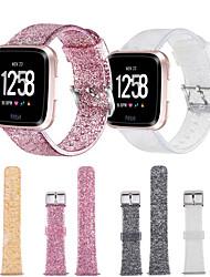 billige -silica Gel Urrem Strap for Fitbit Versa 22cm / 8,66 tommer 2.2cm / 0.9 Tommer