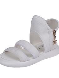 halpa -Tyttöjen Comfort Silmukka Sandaalit Pikkulapset (4-7 vuotta) Valkoinen / Musta Kesä