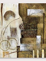 رخيصةأون -ياردة&ريج ؛ مرسومة باليد لوحة زيتية تجريدية مع إطار ممتد للديكور المنزلي