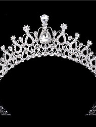 cheap -Alloy Tiaras with Crystals / Rhinestones 1 Piece Wedding / Special Occasion Headpiece