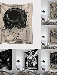 cheap -Tarot Card Tapestry Wall Hanging Astrology Divination Bedspread Beach Mat