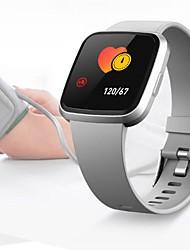 Недорогие -Смарт-часы v12c браслет фитнес-артериальное давление сердечного ритма 1.3 дюймовый водонепроницаемый спортивный цветной экран смарт-браслет