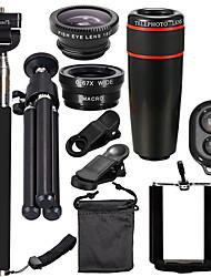 cheap -Mobile Phone Lens Long Focal Lens 12X Macro 130 mm 130 °