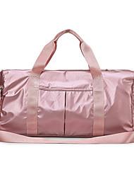 povoljno -Oxford tkanje Patent-zatvarač Putna torba Vanjski Pink / Srebro