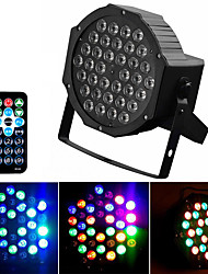 cheap -36LEDs Par Light DJ LED RGBW Par Light RGB Disco Remote Control Stage Light DMX Controller Effect Used For Small Patty KTV Stage Wedding Party Lighting Decoration Lamp US / EU Plug Optional