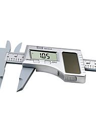 cheap -Solar Plastic Caliper  0-150mm LCD Digital Solar Caliper 6 inch Electronic Vernier Caliper Gauge Micrometer Measuring Tool Height Measuring Instruments