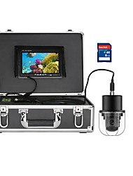 cheap -MOUNTAINONE FX7D-20M 7 Inch DVR Underwater Fishing Video Camera Fish Finder IP68 Waterproof 20 LEDs 360 Degree Rotating Dome Rotating Panoramic Camera