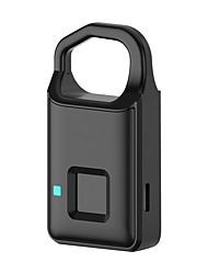 cheap -Fingerprint Padlock Biometric Padlock Lock P2 Finger Print Security Lock Touch Keyless Anti Theft USB charge 4 Months