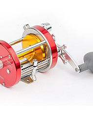 cheap -Fishing Reel Drum Reel 3.7:1 Gear Ratio+3 Ball Bearings Right-handed / Left-handed Freshwater Fishing / Carbon Fiber