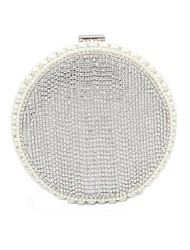 cheap -Women's Pearls / Crystals Polyester Evening Bag 2020 Gold / Silver