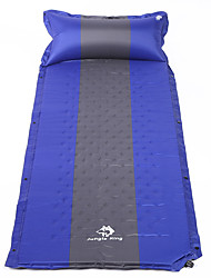 cheap -Inflatable Sleeping Pad Outdoor Camping Linen / Polyester Blend 188*64*3 cm for 1 person Climbing Camping / Hiking / Caving Traveling Spring Summer Yellow Red Army Green