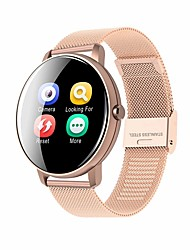 cheap -WAZA HP8 Smart Watch BT Fitness Tracker Support Notify/Heart Rate Monitor Sport Stainless Steel Bluetooth Smartwatch Compatible IOS/Android Phones