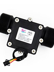 cheap -Water Flow meter flowmeter Hall Sensor Switch counter fuel gauge indicator caudalimetro flow device DN32 G1-1/4 1.25 1-120L/min