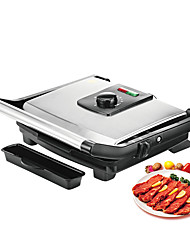 cheap -BBQ Grill Household Kitchen Appliances Barbecue Machine Grill Electric Hotplate Smokeless Grilled Meat Pan Contact Grill