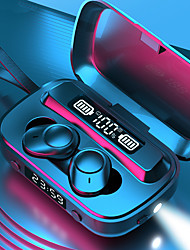 cheap -A13 TWS True Wireless Earbuds Clock  Flashlight Power Bank Hey-Siri Bluetooth Smart Touch IPX7 Waterproof Earphone LED Digital Display Large Capcity Charging Compartment Headset With Rope
