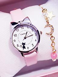 cheap -Kids Quartz Watches Analog Quartz Stylish Animal Pattern Colorful Chronograph Cute Creative / PU Leather