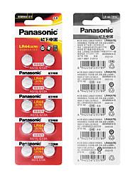 Недорогие -10 шт. 1.5 В кнопки батареи lr44 литиевые батарейки для монет a76 ag13 g13a lr44 lr1154 357a sr44 100% оригинал