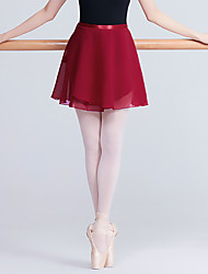 cheap -Ballet Skirts Solid Women's Training Performance High Nylon