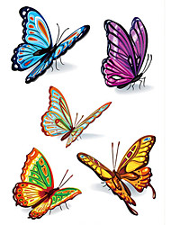 cheap -1 pcs Temporary Tattoos Waterproof Face / Hand / Shoulder PVC(PolyVinyl Chloride) Tattoo Stickers