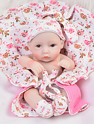 cheap -Reborn Baby Dolls Clothes Reborn Doll Accesories Cotton Fabric for 10-11 Inch Reborn Doll Not Include Reborn Doll Elephant Soft Pure Handmade Girls' 4 pcs
