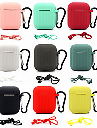 cheap -Earphone Case For Apple AirPods 2 Soft Silicone Cover Wireless Bluetooth Headphone Protective Case For AirPods2 Air Accessory