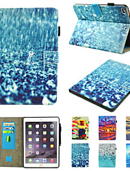 cheap -Case For Apple iPad Pro 10.5  Ipad air3 10.5' 2019  360 Rotation Shockproof  Magnetic Full Body Cases Butterfly  Scenery  Panda PU Leather   TPU