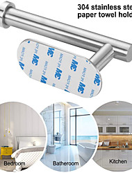 cheap -Stainless steel punch-free paper towel holder toilet toilet roll holder toilet paper holder wall-mounted bathroom pendant