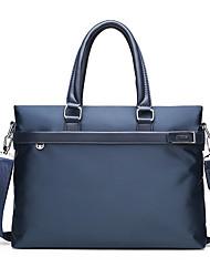 cheap -Men's Bags Oxford Cloth Nylon Shoulder Messenger Bag Laptop Bag Briefcase Zipper Handbags Daily Office & Career Black Blue