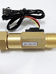 cheap -DN15 Union Nut Active Connection * Counter ANGLE VALVE Ball Float Level Sensor Brass Pipe Valve SEN-HZ21FD
