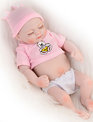 cheap -Reborn Baby Dolls Clothes Reborn Doll Accesories Cotton Fabric for 10-11 Inch Reborn Doll Not Include Reborn Doll Bear Soft Pure Handmade Girls' 3 pcs