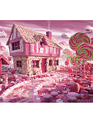cheap -1000 pcs Floral Theme Jigsaw Puzzle Adult Puzzle Jumbo Wooden Nature & Landscapes Adults' Toy Gift