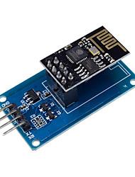 cheap -Esp8266 ESP-01  Serial Modulo Wifi Sem Fio Para Arduino Transceptor Receptor Placa Adaptador Raspberry Pi Uno R3 Um 3.3 v 5 v