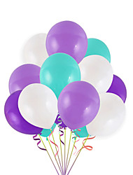 cheap -Party Balloons 50 pcs Mermaid Party Supplies Latex Balloons Boys and Girls Party Birthday Decoration 12inch for Party Favors Supplies or Home Decoration