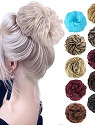 cheap -chignons / Ombre Hair Bun Easy dressing / Color Gradient / Adorable Clip In Synthetic Hair Hair Piece Hair Extension A15 / A16 / A17