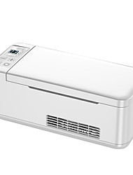 cheap -12v/24v Mini Car Fridge Portable Thermoelectric Cooler Box Insulin Cooler Travel Case Vial Safe Insulin Protector Refrigerator 0.39L