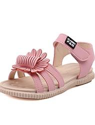halpa -Tyttöjen Comfort PU Sandaalit Pikkulapset (4-7 vuotta) Keltainen / Pinkki / Beesi Kesä