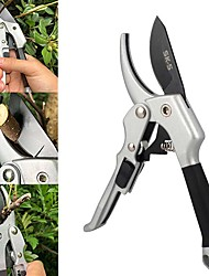 cheap -Gardening Scissors Stainless Steel Garden Pruning Shears Plants Trimming Tools