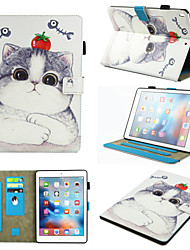 cheap -Case For Apple iPad Pro 10.5 / Ipad air3 10.5' 2019 360° Rotation / Shockproof / Magnetic Full Body Cases Dog / Panda PU Leather / TPU